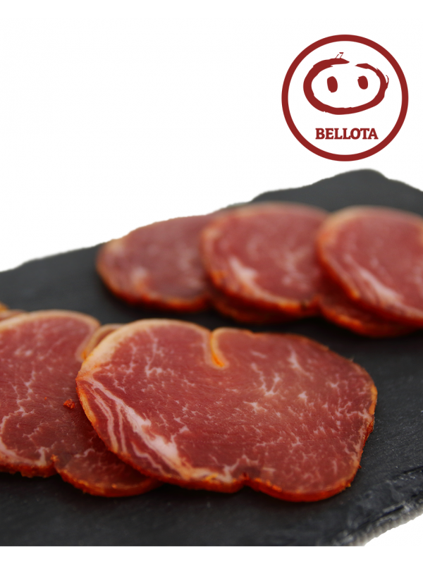 Sliced 50% Acorn-Fed Iberian Pork Loin of Extremadura